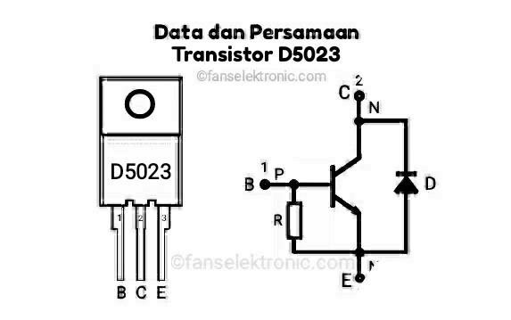 Persamaan Transistor D5023
