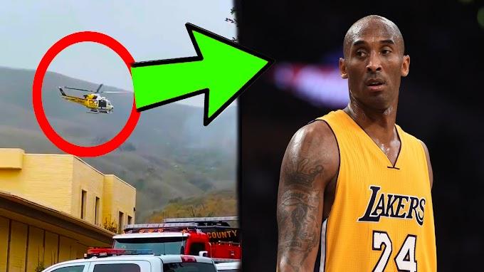 شاهد لحظة سقوط طائرة لاعب كرة السلة الأسطورة كوبي براينت وردة فعل المشاهير