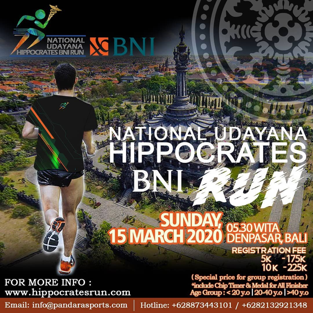 National Udayana Hippocrates BNI Run • 2020