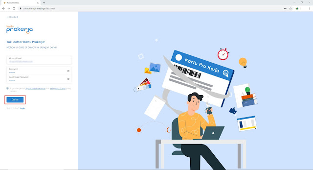 Daftar Peserta Kartu Pra-Kerja Online