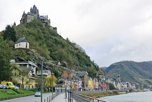 Cochem - A charming town in the Mosel river