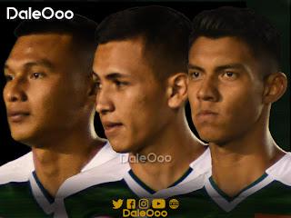 Pedro Tomichá, Emerson Velásquez y Brayan Calderón buscan un cupo para acompañar a Gustavo Olguín en la zaga central de Oriente Petrolero - DaleOoo