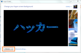 Cara Mengganti Gambar Logon Background Windows 7