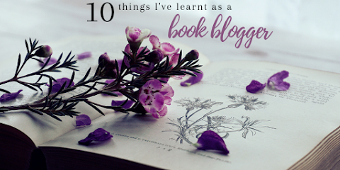 10 things I've learnt as a Book Blogger
