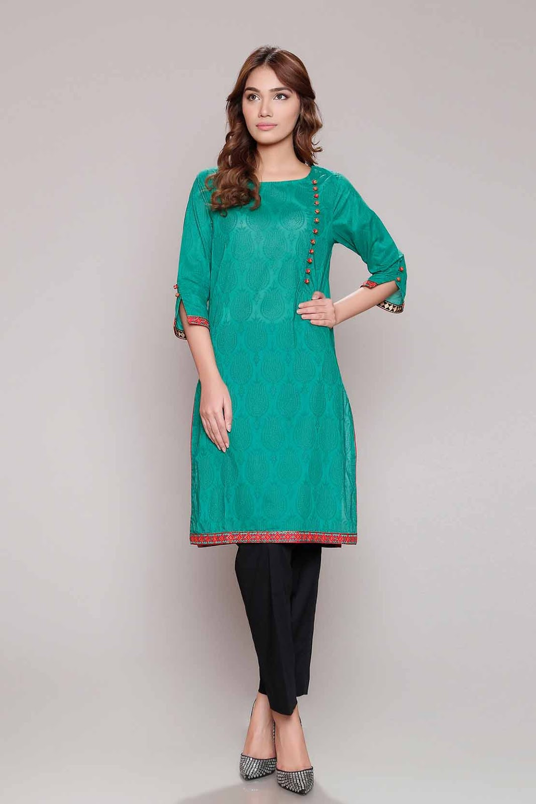 b4002d3435 The effect of sea green yellow and white make this dress eye catching and  beautiful as well as unique and captivating.