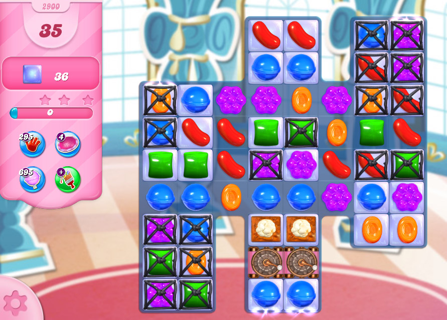 Candy Crush Saga level 2900