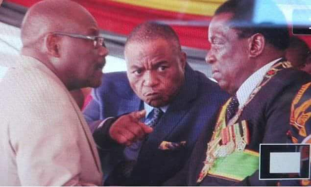 Let's hope all is well between president Mnangagwa,breach and his second in command