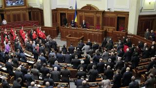 ukrán parlament és kormányválság