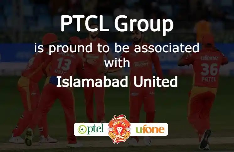 Ufone and PTCL partner with Islamabad United for PSL 6