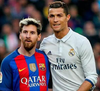 Jakarta - Cristiano Ronaldo, Lionel Messi