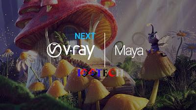 تحميل برنامج في راي للمايا Vray Next for Maya 2020 كامل مع التفعيل