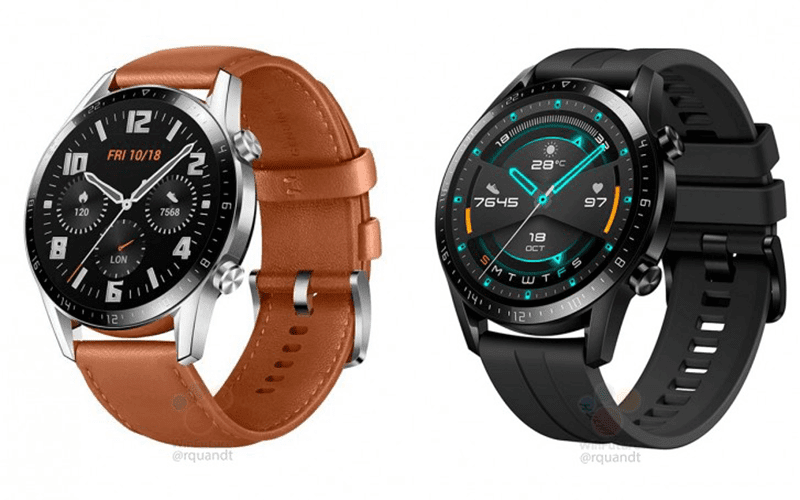 Huawei Watch GT 2 leaked with bigger battery