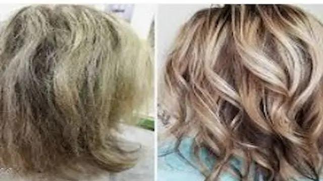 كيفية علاج تلف الشعر