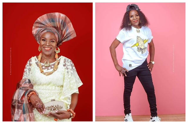 Beautiful and Fabulous- 80 year old woman causes a Stir on social media with her ageless birthday photos