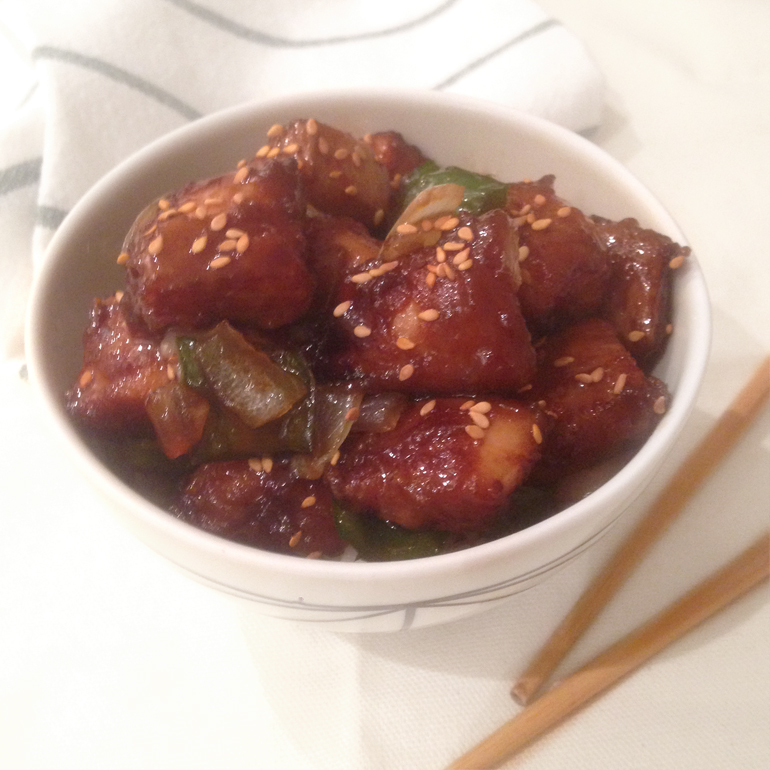 receta pollo agridulce