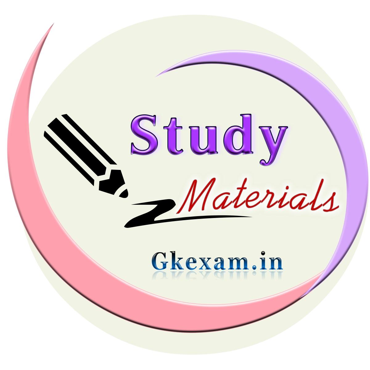 Std 6 Study Materials
