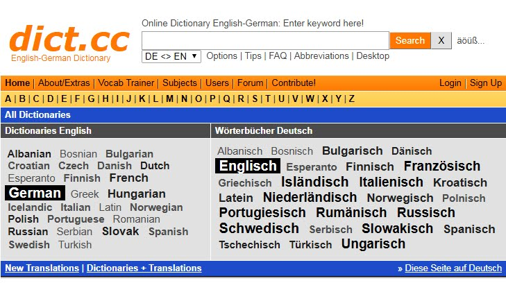 The 2 Best Free German-English Online Dictionaries