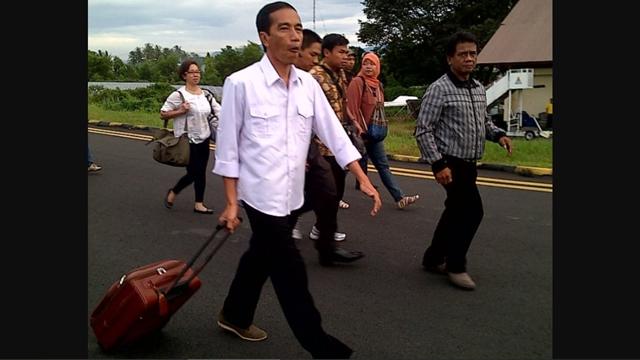 Istana Bantah Jokowi Pulang ke Solo untuk Hindari Demo Buruh, Agendanya Sudah Dijadwalkan