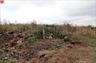 Обломки бетона у деревни Бобовня