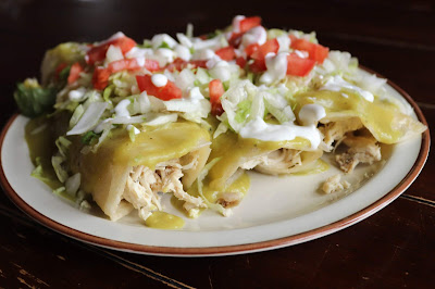 Authentic Enchiladas Verdes #CincodeMayoRecipe