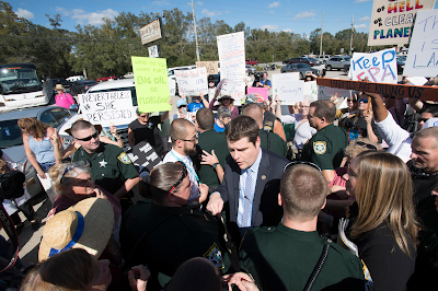 Protest%2B4 In: Northwest Florida Congressman Matt Gaetz faces fury over EPA elimination bill | Our Santa Fe River, Inc. | Protecting the Santa Fe River in North Florida