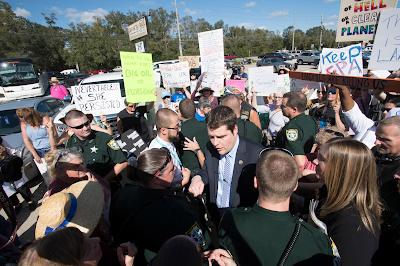 Protest%2B4 In: Northwest Florida Congressman Matt Gaetz faces fury over EPA elimination bill | Our Santa Fe River, Inc. (OSFR) | Protecting the Santa Fe River in North Florida