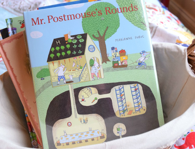 Mr. Postmouse's Rounds, Included in Reading Roundup