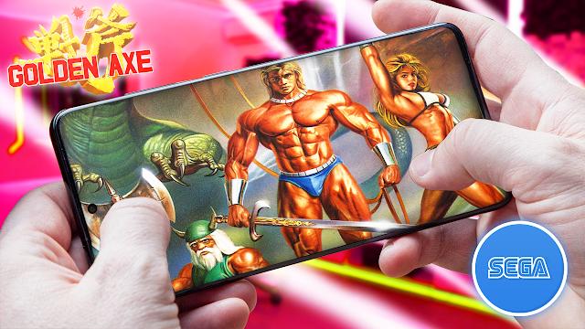 Golden Axe Para Teléfonos Android (ROM SEGA)