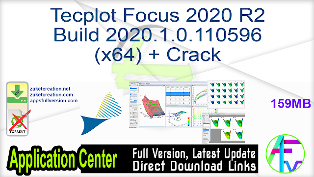 Tecplot Focus 2020 R2 Build 2020.1.0.110596 (x64) + Crack