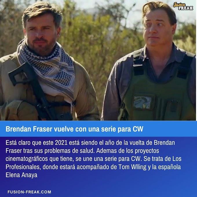 Brendan Fraser vuelve con una serie para CW