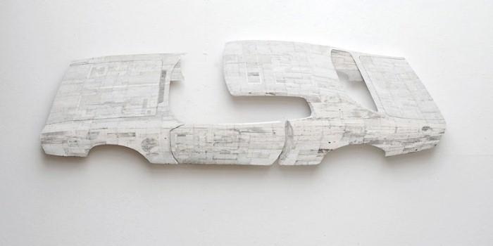 Барельефы из дерева Рона ван дер Энде 7