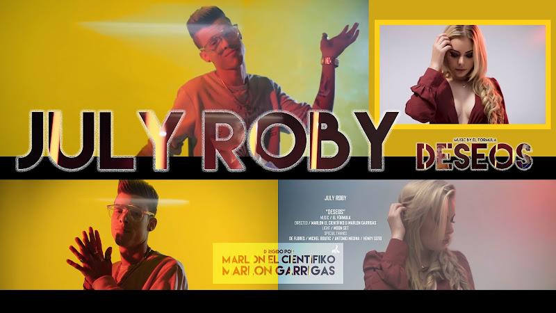 July Roby - ¨Deseos¨ - Videoclip - Dirección: Marlon El Científiko - Marlon Garrigas. Portal Del Vídeo Clip Cubano