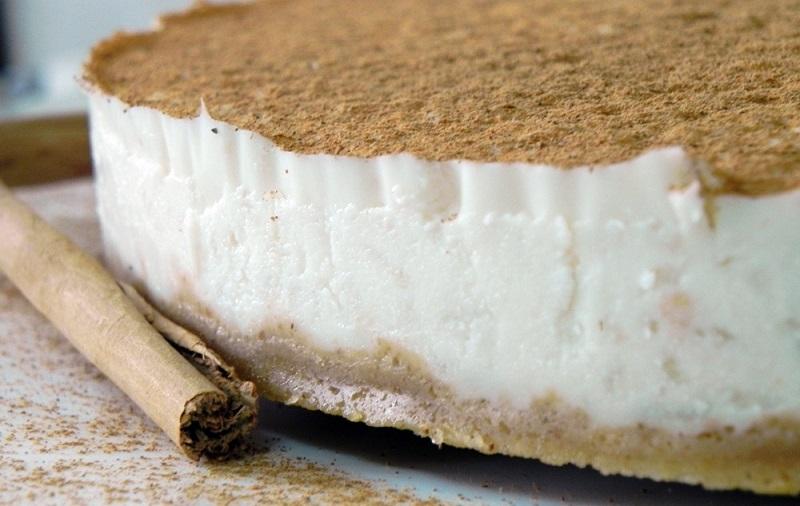Receta de Torta Fría de Arroz con Leche