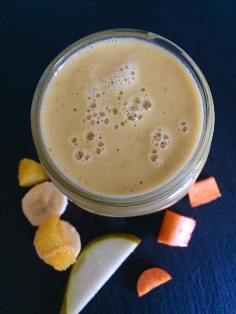 Vitaminreicher Winter-Smoothie, Rezept glutenfrei & vegan, Minimalismus: Zubereitung einfach + schnell, Healthy Food Style, Blog, Rezeptinspirationen für jeden Tag, gesund und lecker, Rezeptideen, schnelle Rezepte, entdecken, leicht