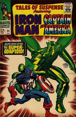 Tales of Suspense #84, Captain America vs the Super-Adaptoid