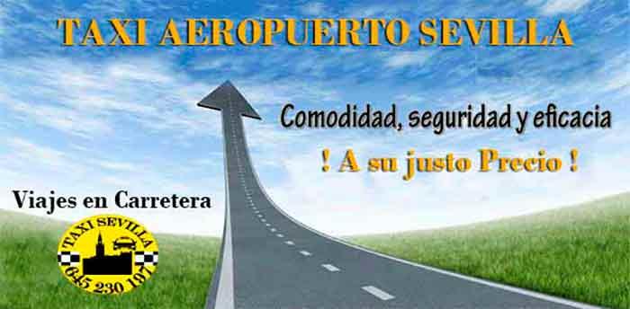 Reserva tu taxi en el Aeropuerto Sevilla.