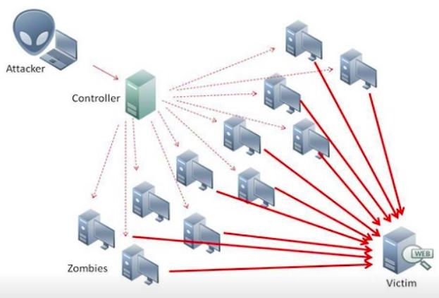 مقارنة بين هجمات DDoS و DoS