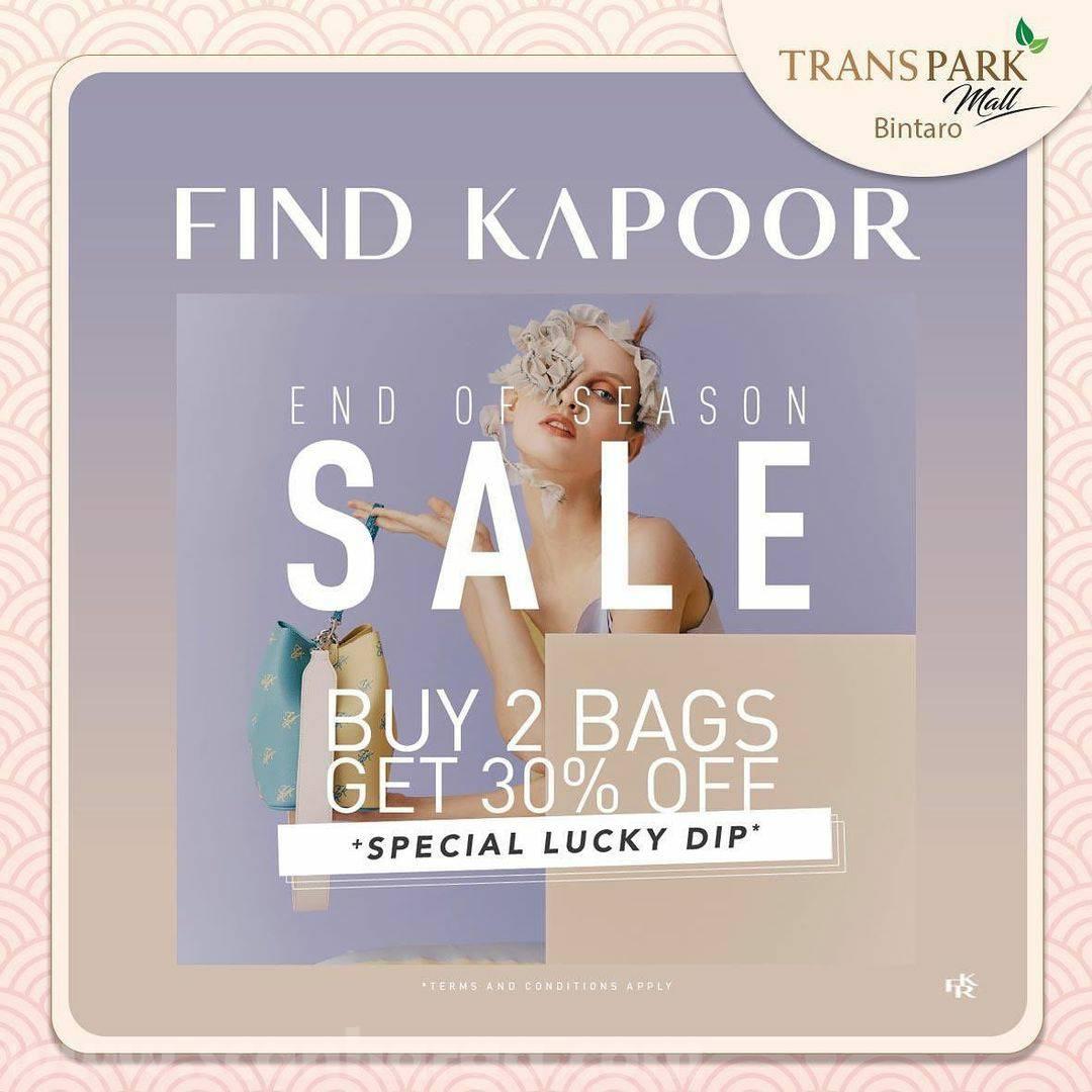 Find Kapoor Promo End of Season SALE