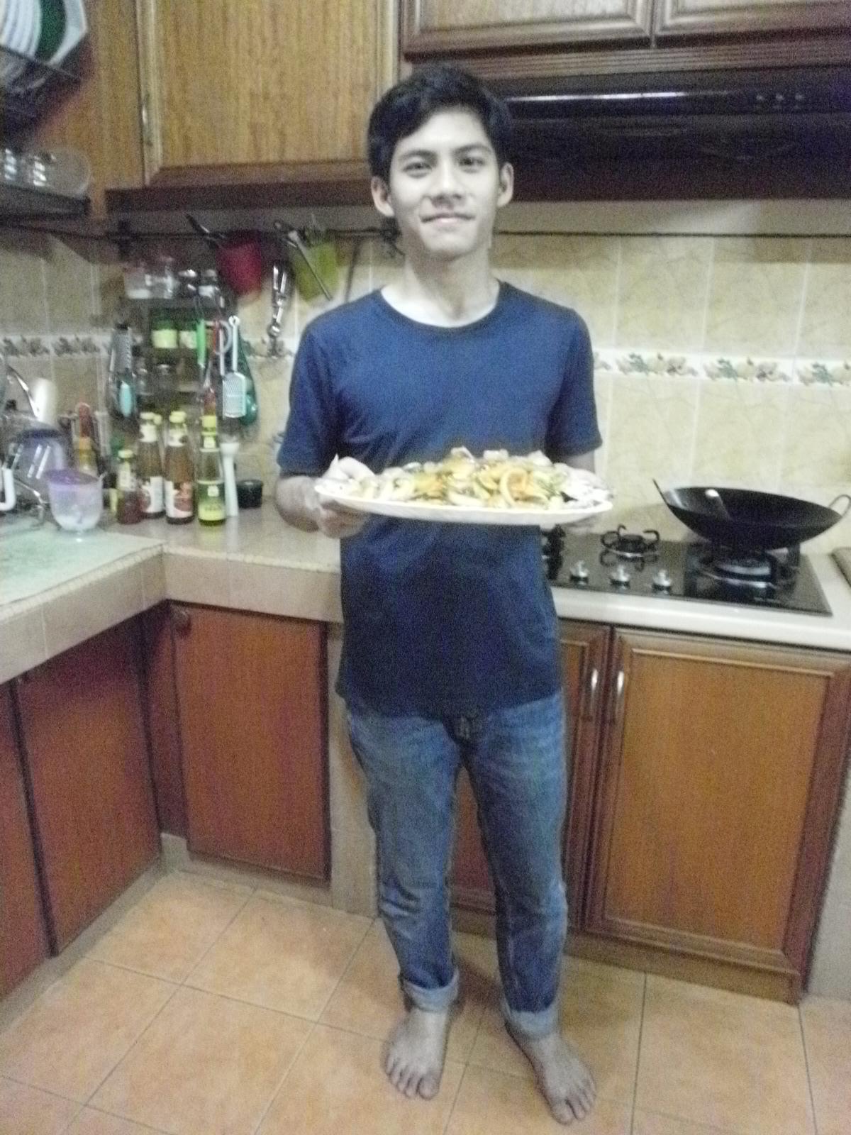 Bila Anak Bujang Masuk Dapur