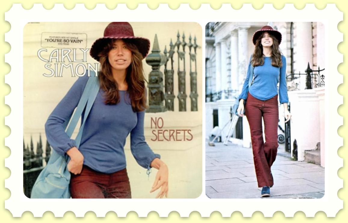 Style Icon: Carly Simon