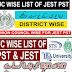 UC Wise Vacancy Positions Of PST & JEST For Recruitment 2021