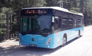 Tarsus-Çamlıyayla  arası otobüslere yeni düzenleme