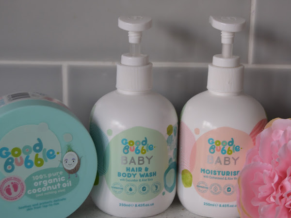 Review and Giveaway | Good Bubble Baby Range