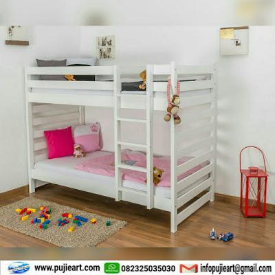 tempat tidur tingkat untuk anak jepara