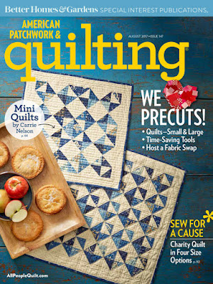 American Patchwork & Quilting August 2017 issue