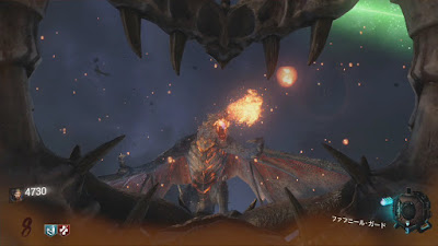 ドラゴンの炎でダメージを受けて生き延びろ