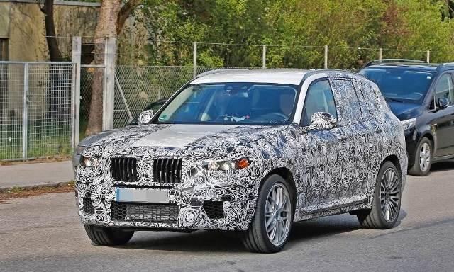 2018 BMW X3 M Spy