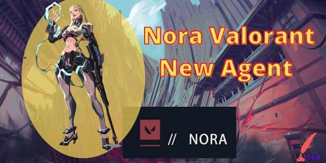 Nora Valorant New Agent
