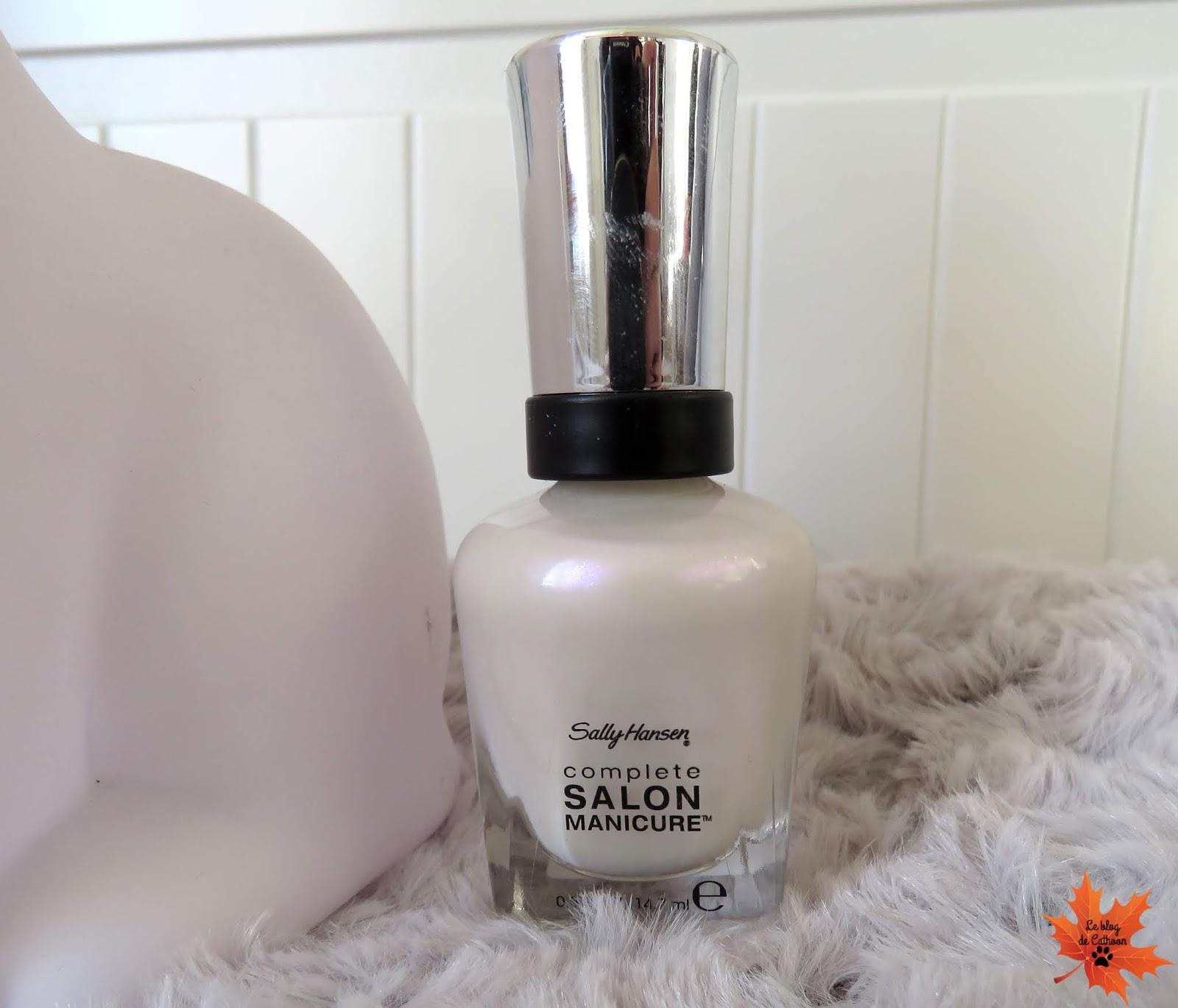 120 Luna Pearl - Complete Salon Manicure - Vernis à Ongles - Sally Hansen
