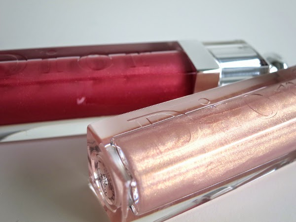 Dior Addict lip Gloss 'Pink Excess' and 'Gold Rain'